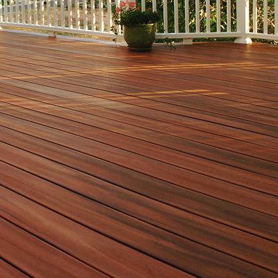 Deck de madeira Jatobá