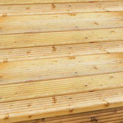 Deck de madeira Pau-Amarelo