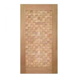 Porta Pivotante com Detalhes