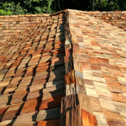 Telha de madeira Taubilha