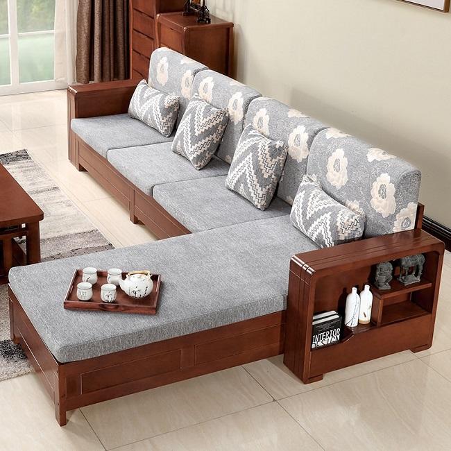 Sofá em formato de L