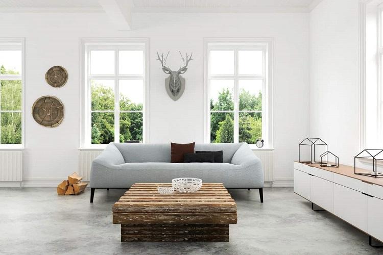 O estilo decorativo minimalista está em alta nos últimos anos.