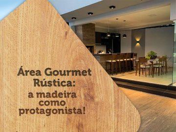 Confira projetos para área gourmet rústica com a madeira como protagonista!