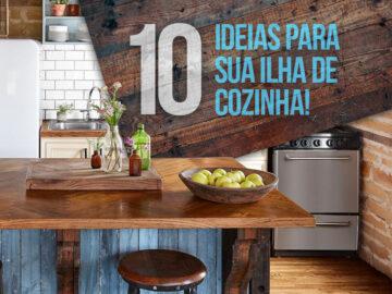 Confira 10 ideias incríveis para sua cozinha com ilha.